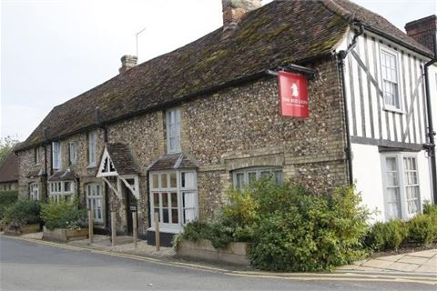 The Red Lion at Whittlesford Bridge