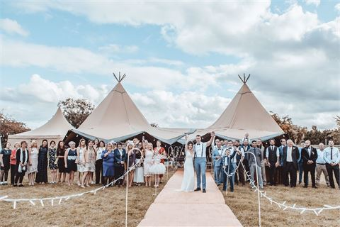 The Tipi at Beaumont Hall